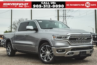 2019 Ram All-New 1500 LIMITED | E-TORQUE| PANO ROOF | HEATED SEATS | Crew Cab
