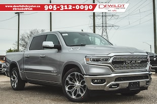 2019 Ram All-New 1500 LIMITED | LEATHER | PANO ROOF | HEATED SEATS | Crew Cab