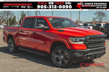 2021 Ram 1500 Built-to-Serve | Bed Utility Grp | Nav | 4x4 Crew Cab