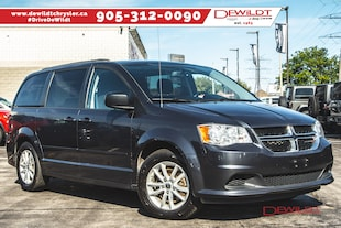 2014 Dodge Grand Caravan SXT PLUS | DVD | ONE OWNER | BACKUP CAM | FULL STOW 'N' GO