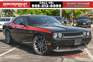2013 Dodge Challenger RT | ONE OWNER | MANUAL | SUNROOF |  Coupe