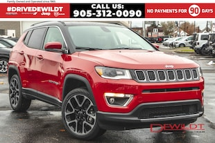 2020 Jeep Compass LIMITED   LEATHER   NAV   PANO ROOF    SUV
