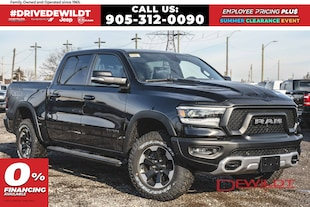 2020 Ram 1500 REBEL | LEATHER & SOUND | REBEL GRAPHICS | LEVEL 2 Crew Cab
