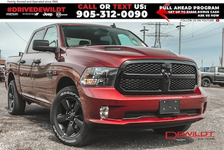 2021 Ram 1500 Classic Night Edition | LEATHER! | Sub Zero | 4x4 Crew Cab
