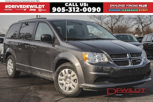 2019 Dodge Grand Caravan SXT | BLUETOOTH | CLIMATE GRP | FULL STOW 'N' GO
