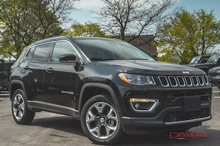 2019 Jeep Compass LIMITED | ADVANCED SAFETY GROUP | PANO ROOF | SUV
