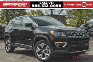 2019 Jeep Compass LIMITED   ADVANCED SAFETY GROUP   PANO ROOF   SUV