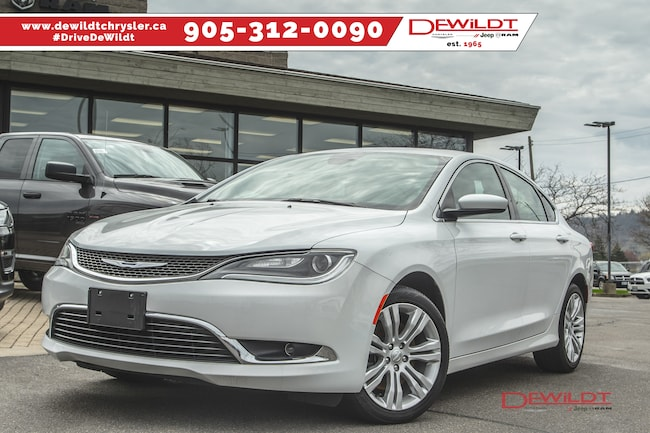 2015 Chrysler 200 V6, LTD, POWER SUNROOF Sedan