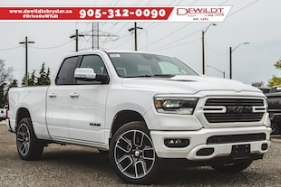 2019 Ram All-New 1500 SPORT | ADVANCED SAFETY GROUP | NAV | Quad Cab