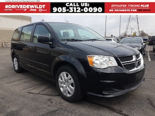 2015 Dodge Grand Caravan CANADA VALUE PACKAGE | ONE OWNER LEASE RETURN |  REAR STOW 'N' GO