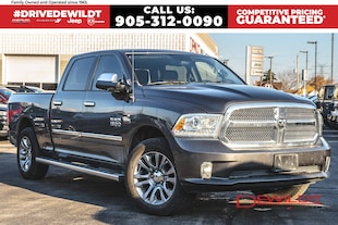 2015 Ram 1500 LIMITED | TOP OF THE LINE | LEATHER | AIR RIDE | Crew Cab