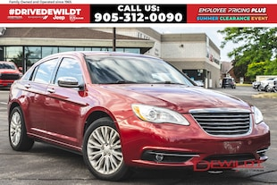 2013 Chrysler 200 LIMITED | LEATHER | SUNROOF | V6 |  Sedan