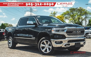 2019 Ram All-New 1500 LIMITED | NAV | PANO ROOF | AIR RIDE | Crew Cab