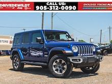 2020 Jeep Wrangler UNLIMITED SAHARA | NAV | ALPINE | LEATHER | DUAL TOPS | SUV