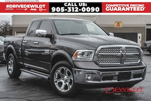 2016 Ram 1500 LARAMIE | LEATHER | ONE OWNER | SUNROOF |  Quad Cab