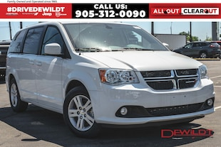 2020 Dodge Grand Caravan CREW | DVD | POWER DOORS | Van