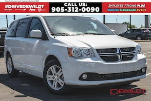 2020 Dodge Grand Caravan CREW | DVD | POWER DOORS | FULL STOW 'N' GO