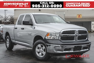 2016 Ram 1500 SXT | 4X4 | ONE OWNER | CLASS IV HITCH |  Quad Cab