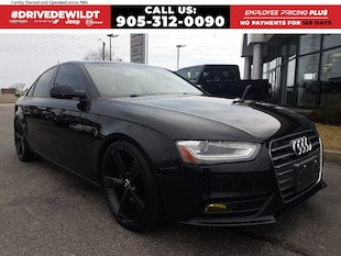 2013 Audi A4 2.0T PREMIUM | AWD | HEATED LEATHER SEATS |  Sedan