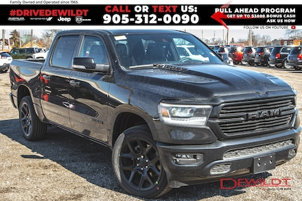 2021 Ram 1500 Sport | Night Edition | Sport Hood | Level 2 | 4x4 Crew Cab