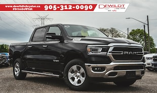 2019 Ram All-New 1500 BIG HORN | NAV | BACKUP CAM | SIDE STEPS | Crew Cab