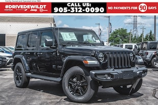 2020 Jeep Wrangler UNLIMITED SAHARA | ALTITUDE | DUAL TOPS | NAV | 4 DOOR WRANGLER
