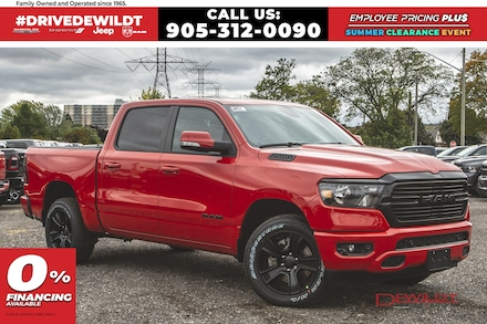 2020 Ram 1500 BIG HORN NIGHT EDITION | PANO ROOF | NAV | Crew Cab