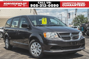 2018 Dodge Grand Caravan CVP | BLUETOOTH | LOW KMS |  REAR STOW 'N' GO