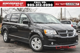 2019 Dodge Grand Caravan CREW | POWER GRP | DVD | Van