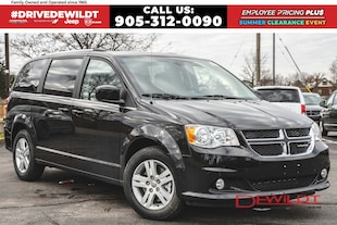 2019 Dodge Grand Caravan CREW | POWER GRP | DVD | FULL STOW 'N' GO
