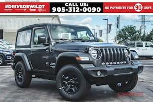 2020 Jeep Wrangler SPORT | A/C | BLUETOOTH | BACKUP CAMERA | 2 DOOR WRANGLER