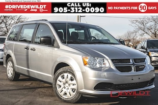 2019 Dodge Grand Caravan CVP | BLUETOOTH | ROOF RACK | REAR STOW 'N' GO