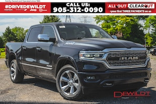 2020 Ram 1500 LIMITED | PANO ROOF | LEVEL 1 GRP | Crew Cab