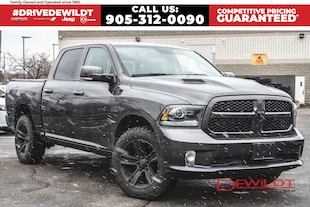 2017 Ram 1500 SPORT | HEATED SEATS | REMOTE START |  Crew Cab