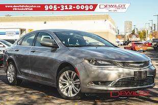 2016 Chrysler 200 LIMITED | BACKUP CAM | HEATED SEATS | Sedan