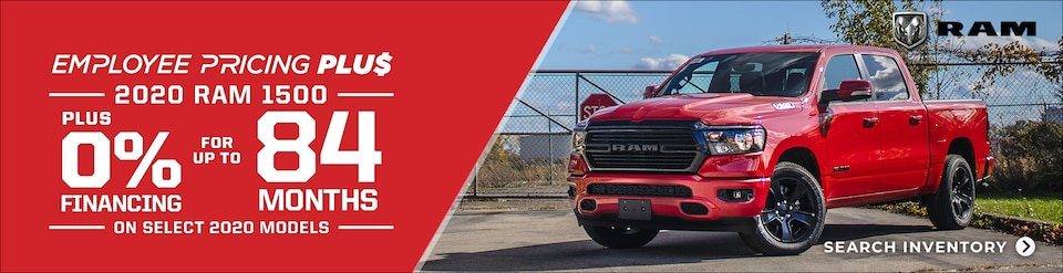 2020 RAM 1500 EMPLOYEE PRICING