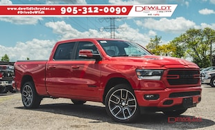 2019 Ram All-New 1500 SPORT | LEATHER & SOUND GROUP | PANO ROOF | Crew Cab