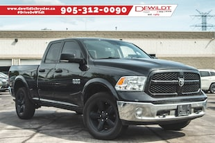 2017 Ram 1500 OUTDOORSMAN | 8.4 IN SCREEN | NAV READY | Quad Cab