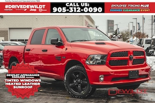 2019 Ram 1500 Classic EXPRESS | HEATED LEATHER | SUNROOF | TINTS Crew Cab