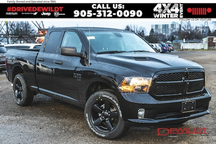 2021 Ram 1500 Classic Night Edition | Sub Zero | Sport Hood | 4x4 Quad Cab 6.3 ft. box 140 in. WB