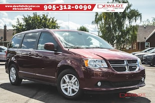 2019 Dodge Grand Caravan Crew Plus | DVD | TRAILER TOW GROUP FULL STOW 'N' GO