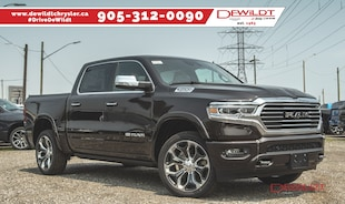 2019 Ram All-New 1500 LONGHORN | ADVANCED SAFETY | PANO ROOF | Crew Cab