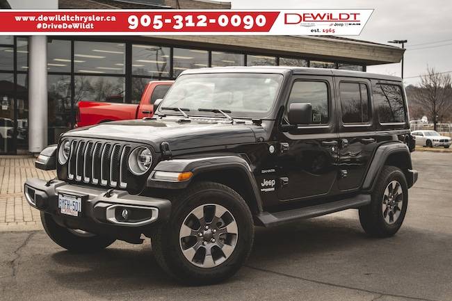2018 Jeep Wrangler UNLIMITED SAHARA | HEATED LEATHER | REMOTE START | 4 DOOR WRANGLER