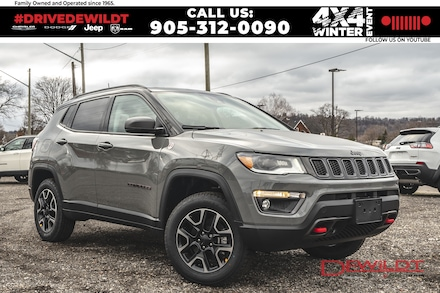 2021 Jeep Compass Trailhawk Elite | Sun & Sound | Advanced Safety | 4x4