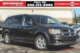 2019 Dodge Grand Caravan CREW PLUS | DVD | SAFETY SPHERE | NAV | FULL STOW 'N' GO
