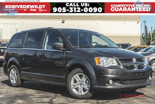 2019 Dodge Grand Caravan CREW PLUS | DVD | SAFETY SPHERE | NAV | FULL STOW 'N' GO