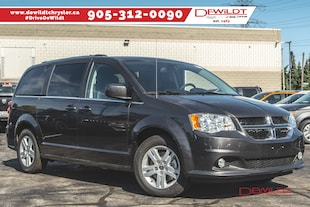 2019 Dodge Grand Caravan Crew Plus FULL STOW 'N' GO