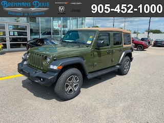 2020 Jeep Wrangler Unlimited Black and Tan Edition SUV