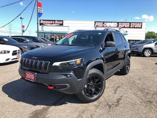 2019 Jeep Cherokee Trailhawk Model   Navigation   Heated Seats SUV
