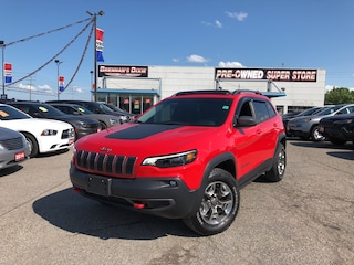 2019 Jeep Cherokee Trailhawk, NAV, Pano Roof, Safetytec, Gold Plan SUV